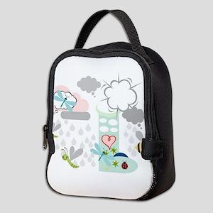 Rainy Day Friends Neoprene Lunch Bag