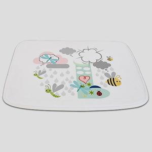 Rainy Day Friends Bathmat