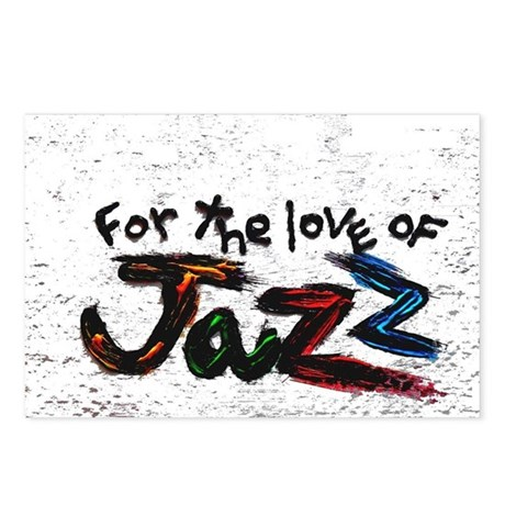 for the love of jazz Postcards (Package of 8)