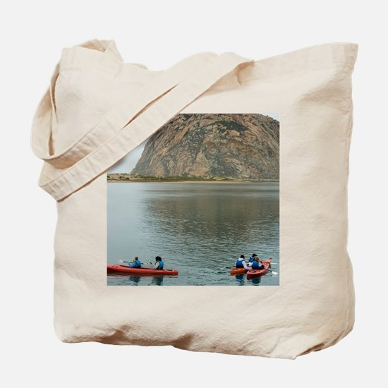 morro bay canoe Tote Bag