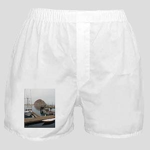 morro bay pontoons Boxer Shorts
