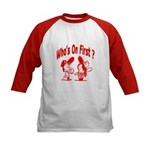 Who's On First? Kids Baseball Jersey