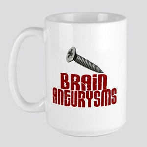 Screw Brain Aneurysms Large Mug