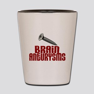 Screw Brain Aneurysms Shot Glass