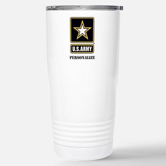 Personalize US Army Travel Mug