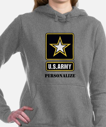 Personalize US Army Hooded Sweatshirt