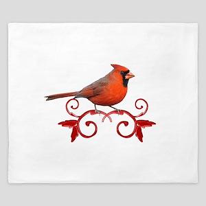 Beautiful Cardinal King Duvet