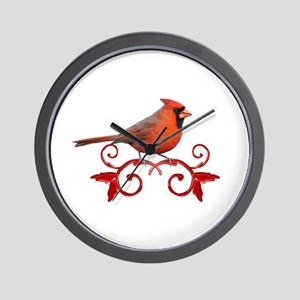 Beautiful Cardinal Wall Clock