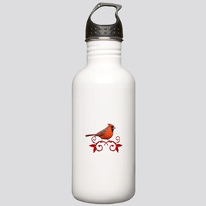 Beautiful Cardinal Stainless Water Bottle 1.0L