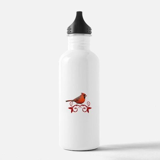 Beautiful Cardinal Water Bottle