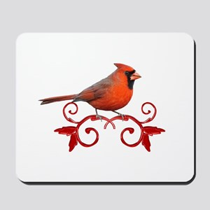 Beautiful Cardinal Mousepad