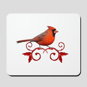 Beautiful Cardinal Mousepad