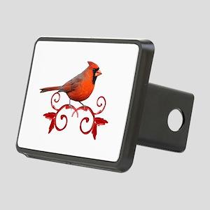 Beautiful Cardinal Rectangular Hitch Cover