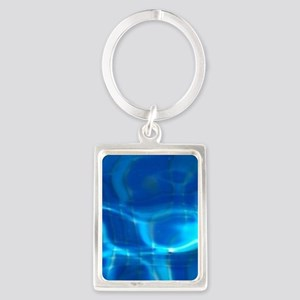Pool water Keychains