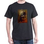 Lincoln & his Cavalier (BT) Dark T-Shirt