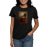 Lincoln & his Cavalier (BT) Women's Dark T-Shirt