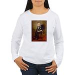 Lincoln & his Cavalier (BT) Women's Long Sleeve T-