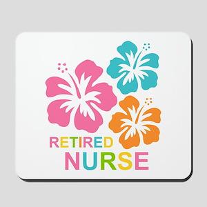 Hibiscus Retired Nurse Mousepad
