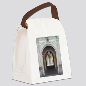 Corridor of Pillars Canvas Lunch Bag