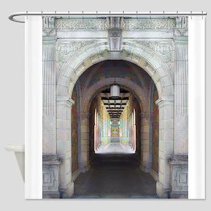 Corridor of Pillars Shower Curtain