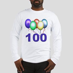 100 Long Sleeve T-Shirt