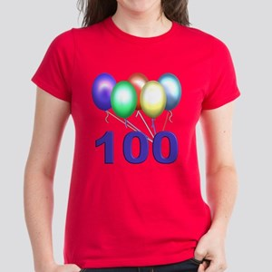100 Women's Dark T-Shirt