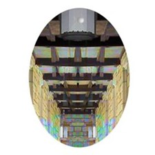 Corridor of Pillars Ornament (Oval)