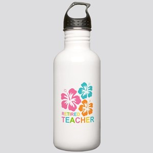 Hibiscus Retired Teach Stainless Water Bottle 1.0L