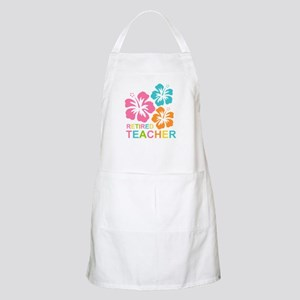 Hibiscus Retired Teacher Apron