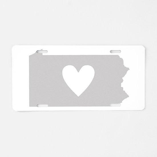Cute Scranton Aluminum License Plate