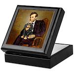Lincoln & his Cavalier (BT) Keepsake Box