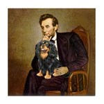 Lincoln & his Cavalier (BT) Tile Coaster