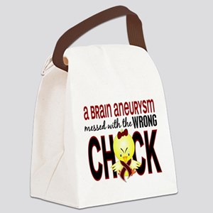 Brain Aneurysm Wrong Chick 1 Canvas Lunch Bag