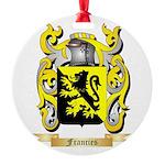 Francies Round Ornament