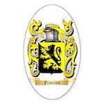 Francies Sticker (Oval)