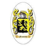 Francies Sticker (Oval 50 pk)