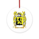 Francies Ornament (Round)