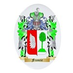 Francie Ornament (Oval)