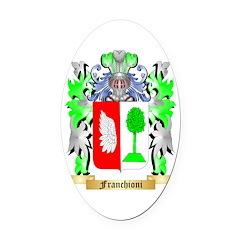 Franchioni Oval Car Magnet