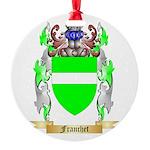 Franchet Round Ornament
