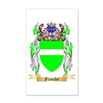 Franchet 20x12 Wall Decal