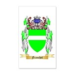 Franchet 35x21 Wall Decal