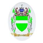 Franchet Ornament (Oval)