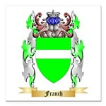 Franch Square Car Magnet 3