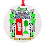 Francey Round Ornament