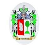 Francesoni Ornament (Oval)