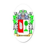 Francescuzzi Oval Car Magnet
