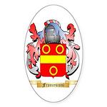 Francesconi Sticker (Oval 50 pk)