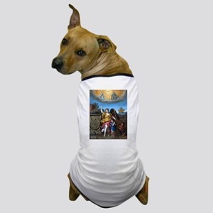 Domenichino - Guardian Angel - 1615 Dog T-Shirt