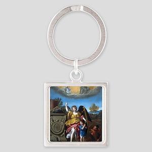 Domenichino - Guardian Angel - 1615 Keychains